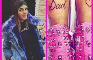 uomini e donne silvia raffaele nuovo tatuaggio