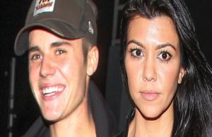 Justin Bieber KOurtney Kardashian
