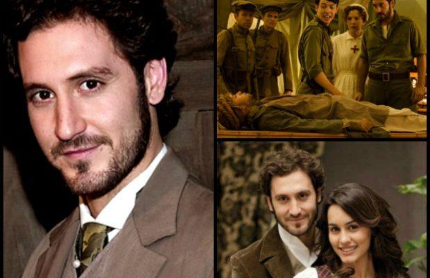 Alex Gadea, Tristan de Il Segreto, è Andres in Tiempos de guerra