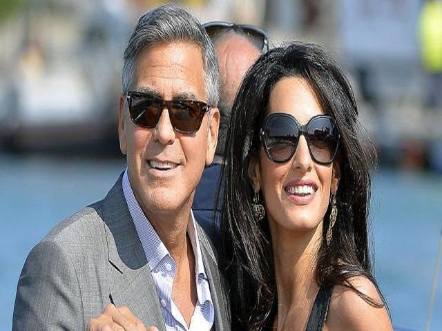 96792af2d7b4 George Clooney e Amal Alamuddin in dolce attesa  le foto con il pancione