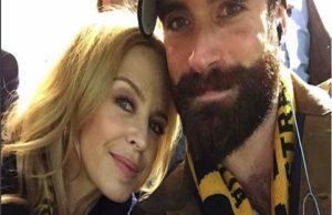 Kylie Minogue e Joshua Sass