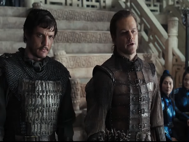 the great wall matt damon cast pedro pascal