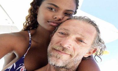 Tina Kunakey e Vincent Cassell