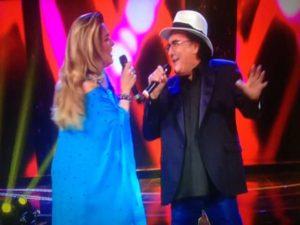 albano e romina a standing ovation