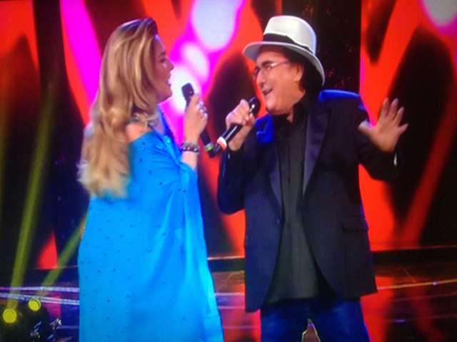 albano e romina: insieme al concerto