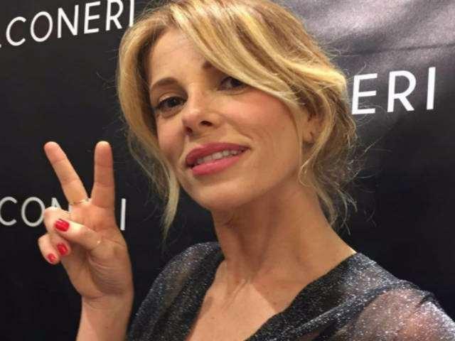 Alessia Marcuzzi: crisi marito e vacanze con i figli