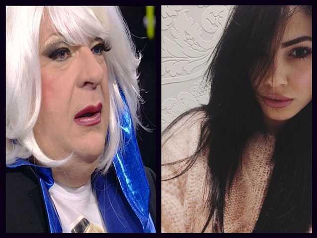 Giulia De Lellis e Platinette