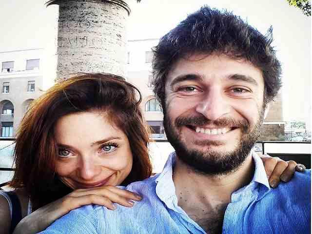 lino guanciale fidanzata