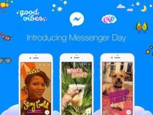 Messenger Day, la Giornata con le Storie sbarca sulla chat di Facebook