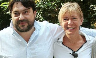 Sigfrido Ranucci insieme a Milena Gabanelli