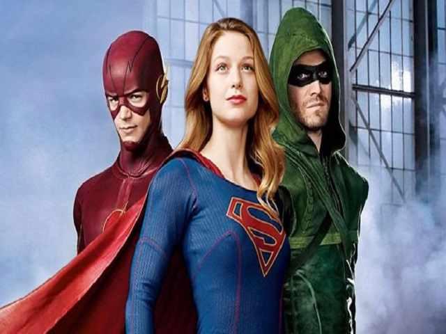 supergirl flash arrow