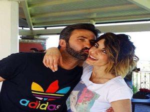 Samanta Togni e il fidanzato Christian Panucci