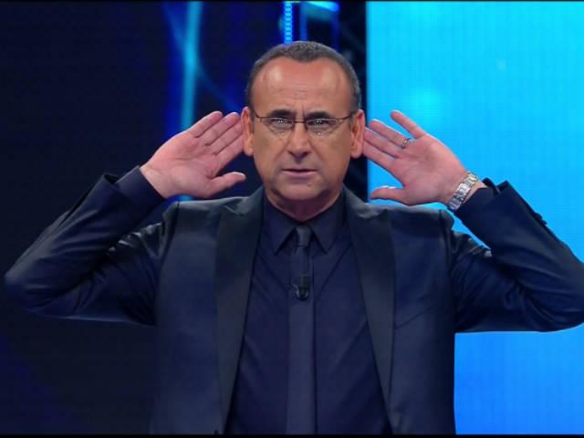 Carlo Conti blu