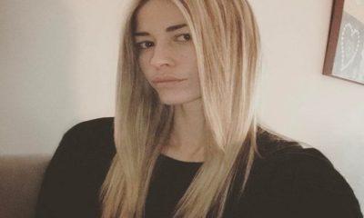 Elena Santarelli sfondo white