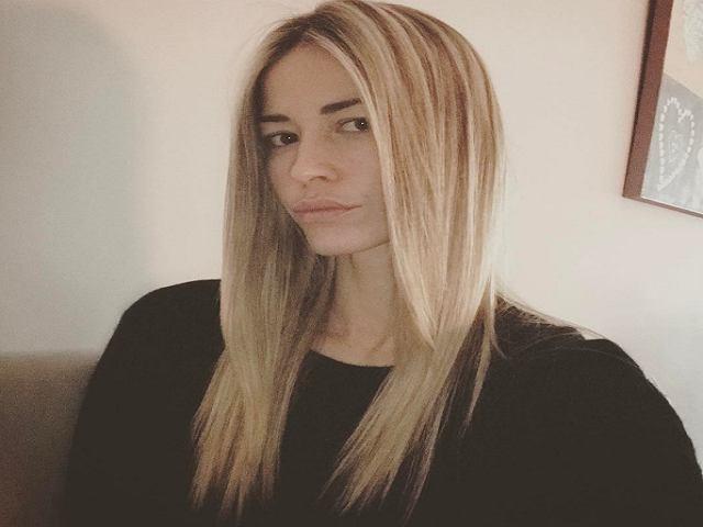Elena Santarelli maglione nero
