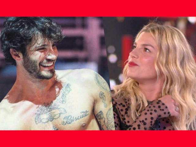 Emma e Stefano cornice rossa
