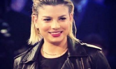 emma marrone giubbino black