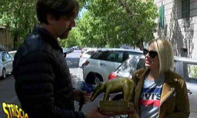 Emma Marrone tapiro d'oro per lo scherzo ad Amici