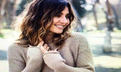 Ambra Angiolini maglione beige