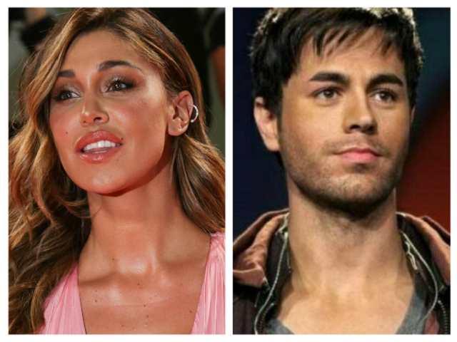 Belén Rodriguez e Enrique Iglesias: conquista inaspettata per la showgirl