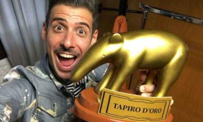 Tapiro a Francesco Gabbani