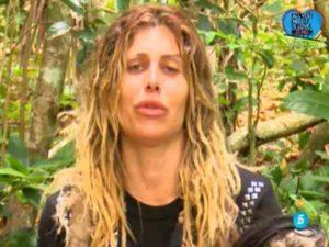 Paola Caruso in lacrime a Supervivientes