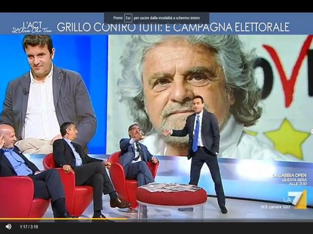 Ignazio La Russa contro David Parenzo
