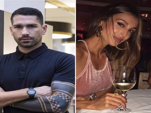 Marco Borriello e Cristina Buccino: la prova del flirt