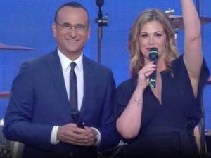 Carlo Conti difende Vanessa Incontrada