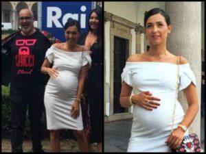 Caterina Balivo al settimo mese di gravidanza