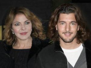 Claudia Gerini e Andrea Preti