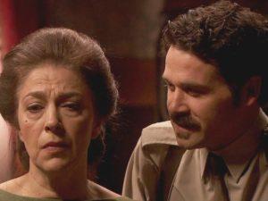 Cristobal minaccia Donna Francisca - Il Segreto