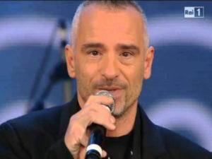 Ramazzotti, dedica alla moglie Marica ai Wind Music Awards 2017