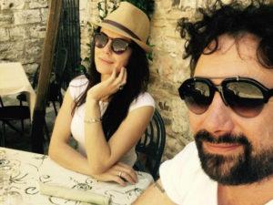 Zampaglione e Giglia Marra: matrimonio e figli