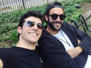 Roberto Bolle e Marco Mengoni insieme a New York