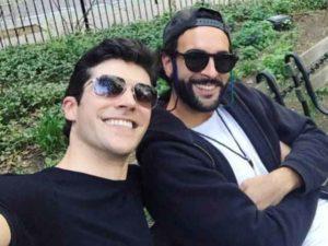 Roberto Bolle e Marco Mengoni insieme a New York