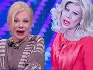 Sandra Milo contro Virginia Raffaele