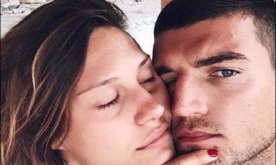 Beatrice Valli Marco fantini bacio barba