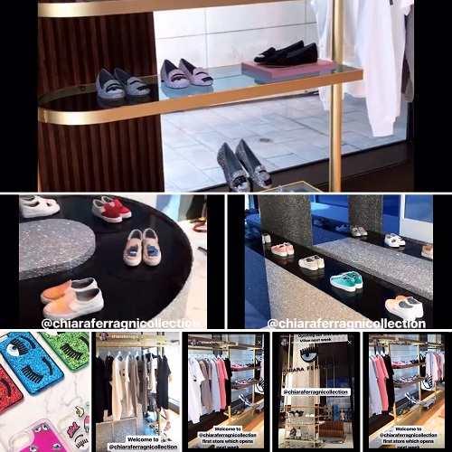 Chiara Ferrragni: nuovo negozio