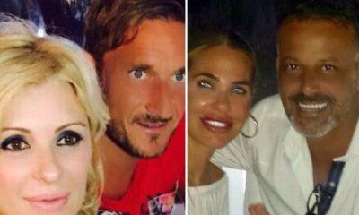 Chicco Nalli Tina Cipollari Francesco Totti Ilary Blasi: Sabaudia