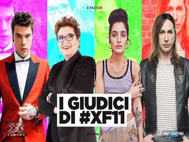 Giudici X Factor: categorie assegnate