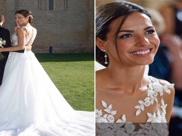 Laura Barriales: abito matrimonio