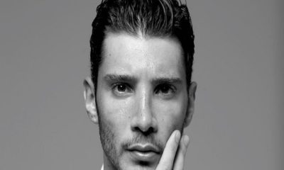 Stefano De Martino black white