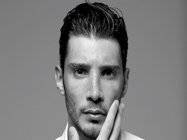 Stefano De Martino black white