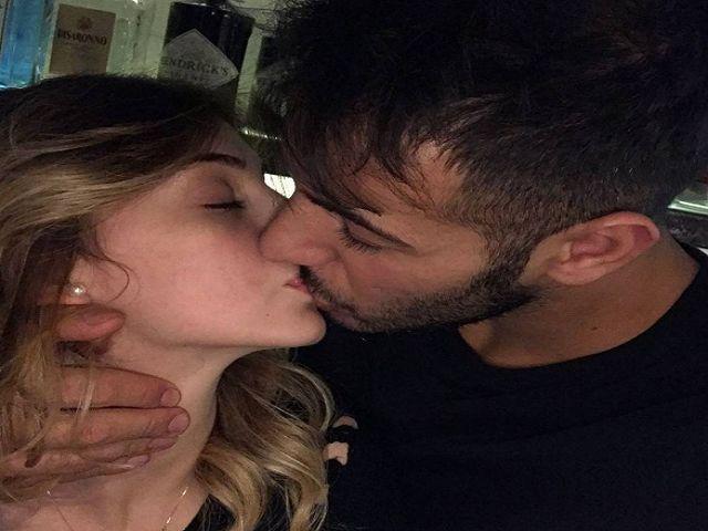 aldo e alessia bacio