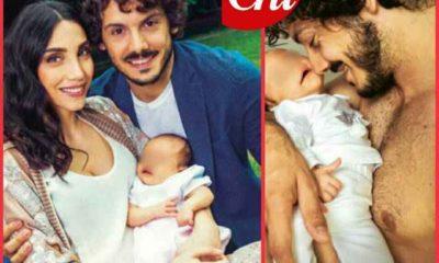 Chicca e Giovanni presentano la figlia Ginevra