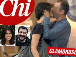 Elisa Isoardi bacia Matteo, ma non è Salvini