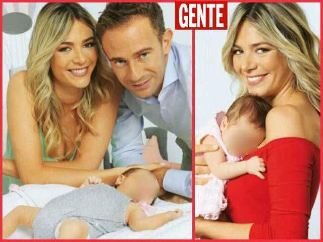 Francesca Fichera e Filippo Volandri presentano la piccola Emma a Gente