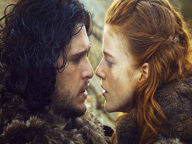 game of thrones jon snow e ygritte