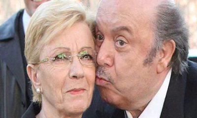 Lino Banfi e la moglie Lucia: smentita della malattia